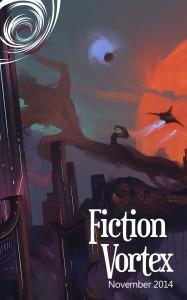 Fiction Vortex - November 2014, art by Sergio Suarez