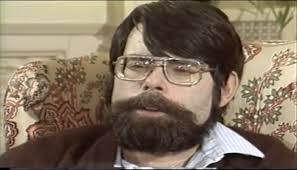 ...and his dad, Stephen King at roughly the same age. Do these guys look alike or what?