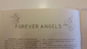 """Cover """"art"""" for """"Forever Angels"""" (not much to enjoy here, but better than nothing I suppose)"""