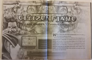 """Cover art for """"Citizen Flame"""""""