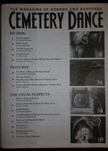 CD #73 Table of Contents