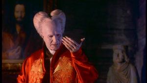 Gary Oldman as Count Dracula. Fantastic film. Fantastic portrayal. And that hair!!!