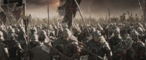 """Orc horde as depicted in the film """"Lord of the Rings: Return of the King"""""""