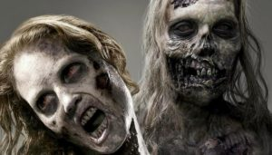 I think this is from The Walking Dead. *Definitely* going to have to do a post on that show one of these days.